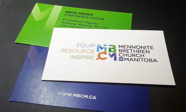 MBCM Business cards